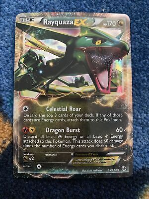 Rayquaza EX 85/124 Dragons Exalted Pokemon