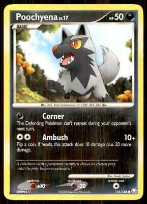 2008 Pokemon Dp Legends Awakened Poochyena C #116