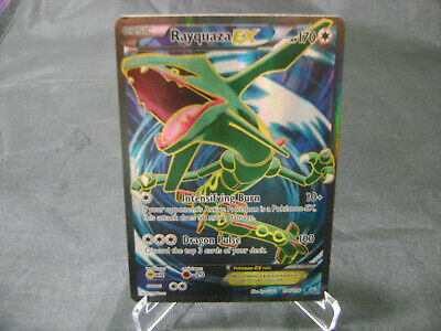 Pokemon Card Rayquaza EX 104/108 XY Roaring Skies ULTRA RARE HOLO LP