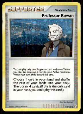 2007 Pokemon Diamond And Pearl Professor Rowan U #112