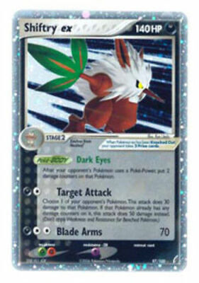 Pokemon Shiftry ex EX Power Keepers 97/108 Ultra Rare LP/P