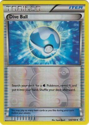 Dive Ball - 125/160 - Uncommon - Reverse Holo - XY - Primal Clash - NM - Pokemon