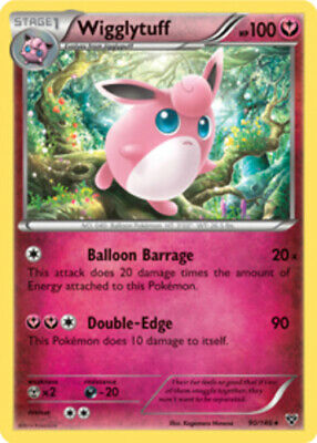 Wigglytuff - 90/146 - Rare - XY - Base Set - NM - Pokemon