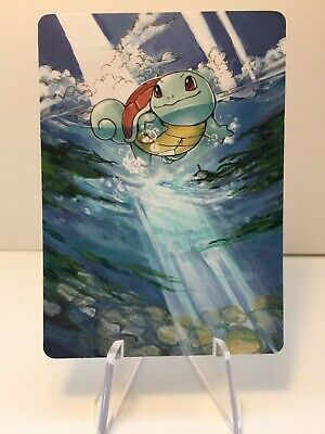 Pokemon hand painted Full Art card Squirtle Unbroken Bonds