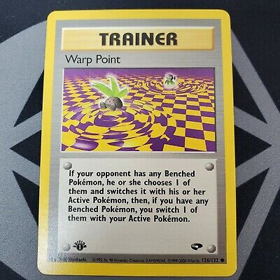 Warp Point 126/132 - 1st Edition - Gym Challenge - Pokemon