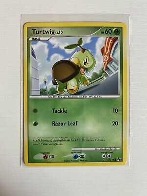 Turtwig 17/17 Common Pop Series 6 Pokemon Card