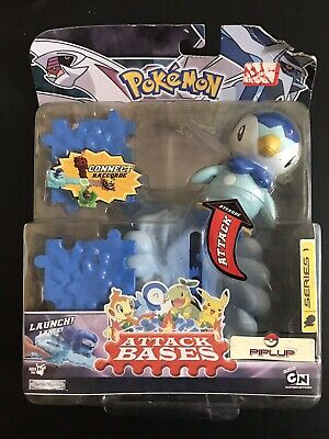 Pokemon Diamond and Pearl Attack Bases Piplup Series 1 IN BOX
