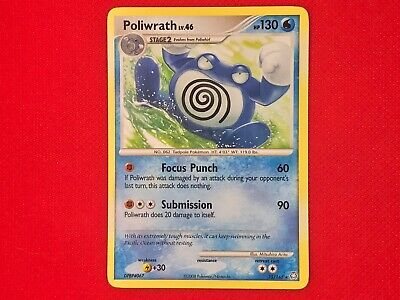 Pokemon TCG Poliwrath 35/146 Legends Awakened Rare Lightly Played LP CARD