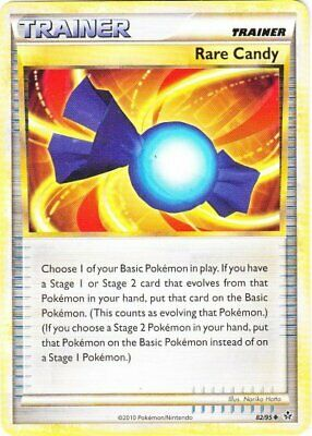 Rare Candy - 82/95 - Uncommon - HS Unleashed - NM - Pokemon