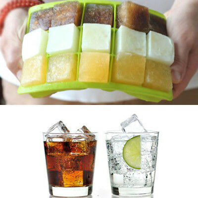 Ice Cube Trays Silicone 15-Cavity Cube