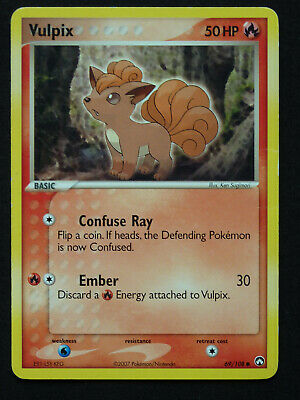 Pokemon Ex Power Keepers Set Vulpix