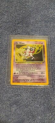 Mr. Mime Jungle (no set symbol misprint) 6/64 holo rare unlimited pokemon card