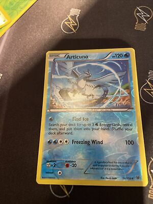 Articuno 16/108 - Xy Roaring Skies Pokemon Reverse Holo Rare Card - New Mint