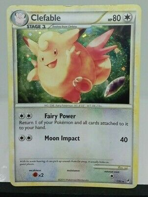 Clefable 1/95 HOLO Rare Call of Legends Pokemon Card LP - FREE TRACKED SHIPPING
