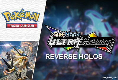 Pokemon Sun & Moon: Ultra Prism: All Reverse Holo Cards Card Singles