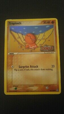 1x Trapinch 68/108 EX Power Keepers Holo Pokemon Card