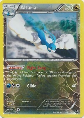 Altaria 84/124 Dragons Exalted Reverse Holo Rare Light Play LP Pokemon DNA GAMES