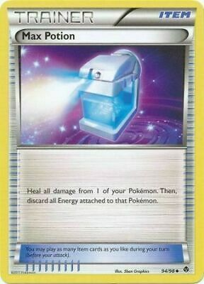 Max Potion 94/98 Emerging Powers Uncommon Near Mint NM Pokemon DNA GAMES