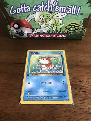 Jungle Pokemon 1st Edition Goldeen (53/64) - MINT CONDITION - Straight From Box