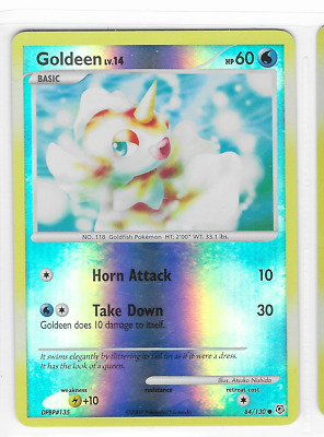 Pokemon Goldeen 84/130 Diamond and Pearl Common Near Mint Condition