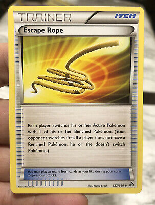 Primal Clash Escape Rope 127/160 Trainer Set Pokemon Trading Card