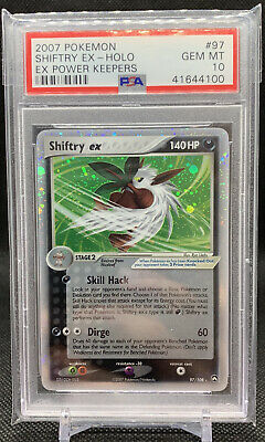 PSA 10 Shiftry Ex #97 EX Power Keepers Pokemon Card Holo 2007 *POP 54*