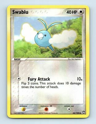 Swablu 66/108 Non-Holo Ex Power Keepers Pokemon Card ~ LP