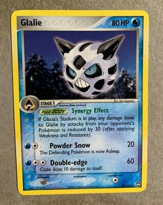 Glalie 30/108 EX Power Keepers - Uncommon Pokemon Card - EXCELLENT