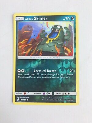 Alolan Grimer 83/181 Reverse Holo :: Team Up :: Pokemon Card