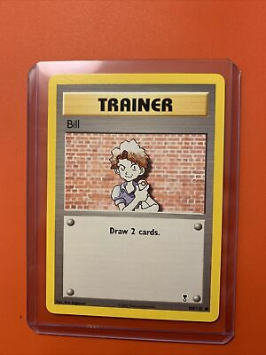 BILL - 108/110 - Legendary Collection - Trainer - Pokemon Card - Unplayed Mint