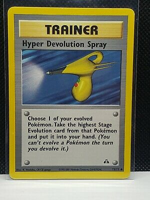 Pokemon Hyper Devolution Spray Neo Discovery 73/75 Played Condition