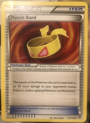 Muscle Band XY Set 121/146 Pokemon Trading Card Excellent Condition🔥🔥
