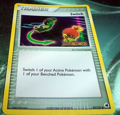 Pokemon Switch (Trainer) Reverse Holo - 83/101 Dragon Frontiers PL