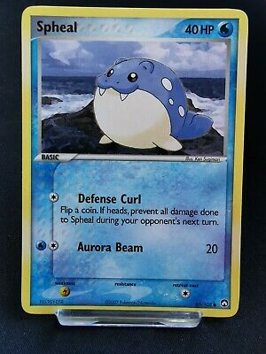Spheal 65/108 Ex Power Keepers Pokemon Card - Non Holo