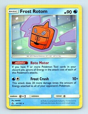 Frost Rotom 41/156 Non-Holo Ultra Prism Pokemon Card c63 ~ Light Play