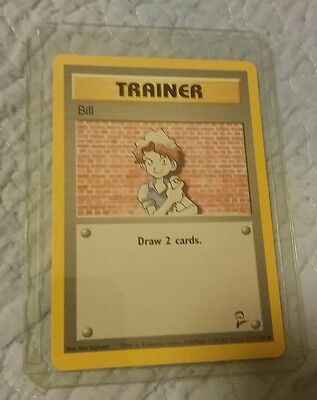 Pokemon-Card-Trainer-Bill-Base-Set-2-118-130-in-Excellent Condition     Pokemon