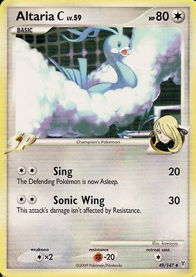 Pokemon Card: Altaria C 49/147 SP Platinum Supreme Victors Set! NM