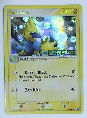 Pokemon Card - Manectric - 16/106 - Emerald - Good