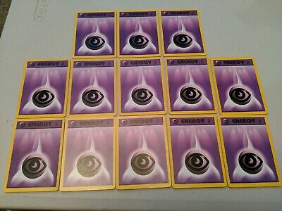 13X PSYCHIC ENERGY 129/130 BASE SET 2 WotC Pokemon M/NM