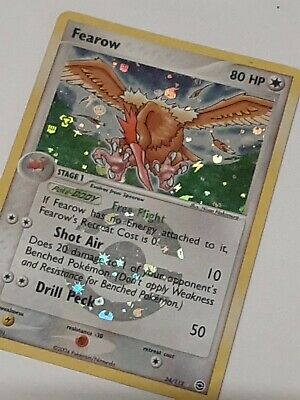 Pokemon Card - Fearow 24/112 - POKEMON EX FireRed & LeafGreen HOLO - MINT/NM!