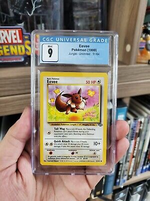 Pokemon Jungle Eevee 51/64 CGC 9 mint
