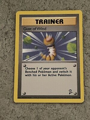 Pokemon Trading Cards Base Set 2 Trainer Gust Of Wind