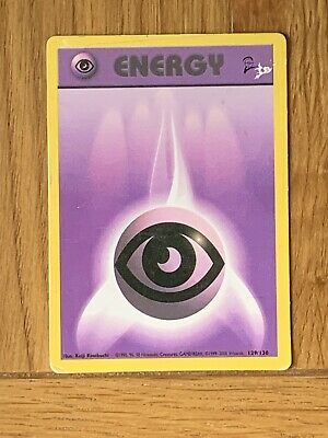 Pokemon Trading Cards Base Set 2 Energy Psychic