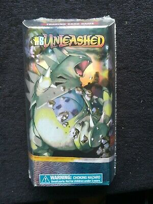 Pokemon Theme Deck TYRANITAR, HS Unleashed. SEALED ENG