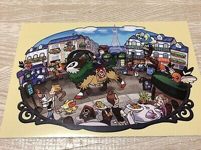 Pokemon Post Card Vintage XY Gogoat Nintendo Japanese 1999 F/S