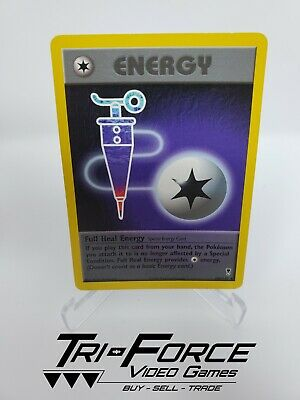 Full heal Energy 100/110 Legendary Collection Pokemon Card Vintage Fast shipping