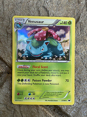 Pokemon Dark Explorers Venusaur Holo 3/108