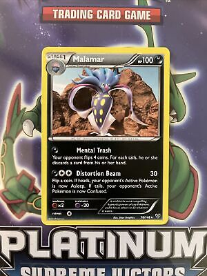 Pokemon XY Malamar 76/146 Rare Card