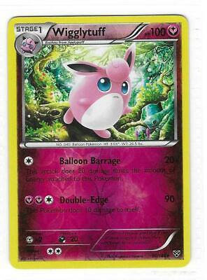Pokemon --- WIGGLYTUFF --- XY Base Set! REVERSE HOLO! MINT! 90/146