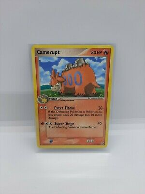 Pre-owned Pokemon TCG EX Emerald Series Camerupt 23/106